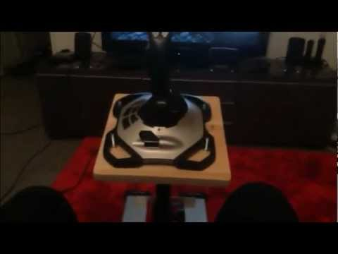 Joystick stand setup for Battlefield 3 and other