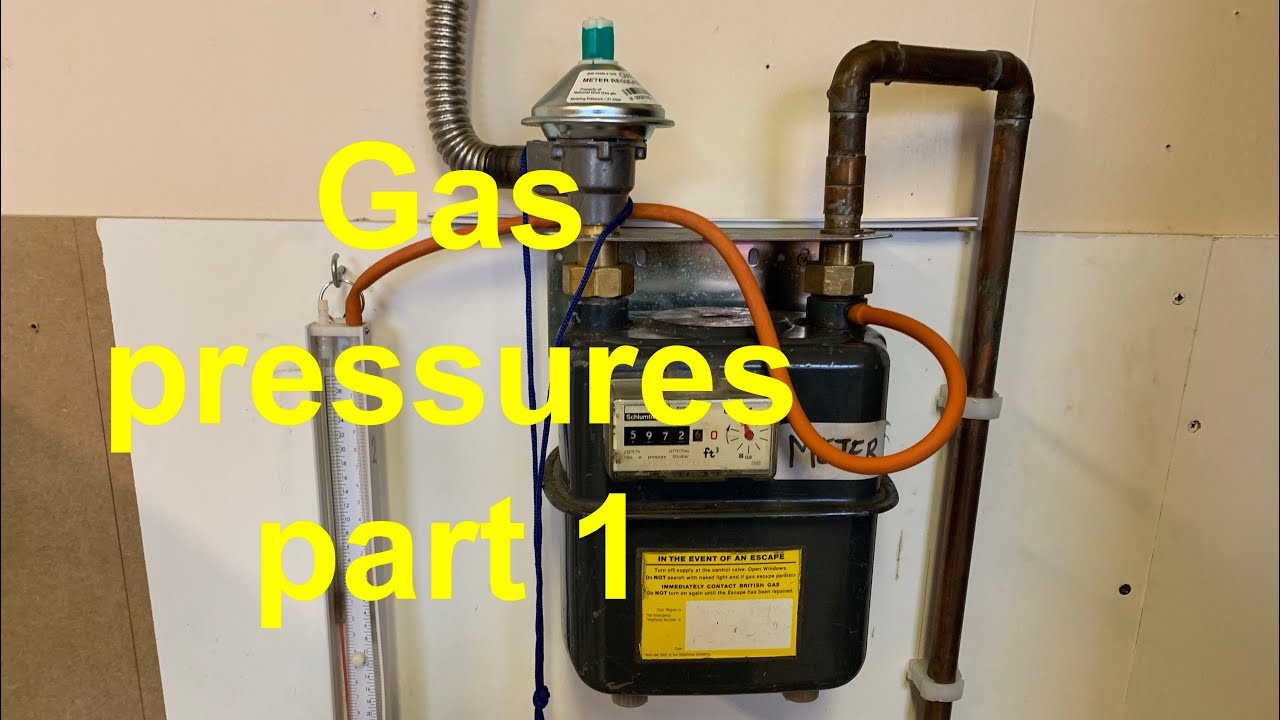 GAS PRESSURES PART 1, a gas tutorial  all about standing, working and operating pressures for ga.s.