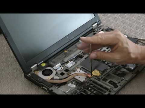 How to replace the fan in a Lenovo T410