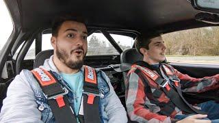 I let him test drive my Turbo Miata, then GAVE IT TO HIM!!