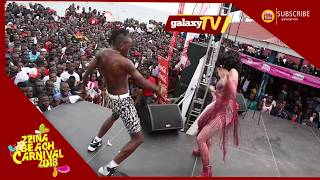 This was the most powerful peformance of the night Sheebah and kabako got talent