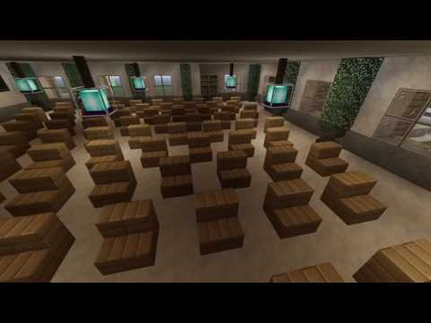 Minecraft: City Hall Interior Showcase