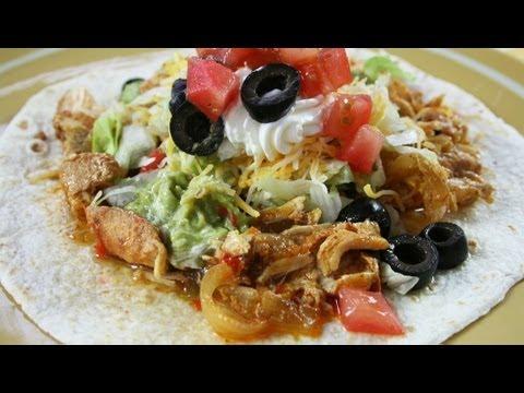 Slow-Cooker Chicken Fajitas recipe