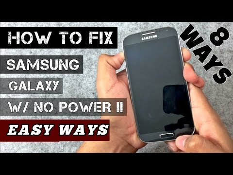 HOW to Fix ALL Samsung Galaxy Phones /WONT TURN ON/ [2018]