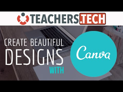 Learn Canva - Create FREE Beautiful Graphic Designs