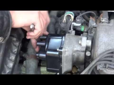 1998 Honda Civic EX Distributor Cap And Rotor Change