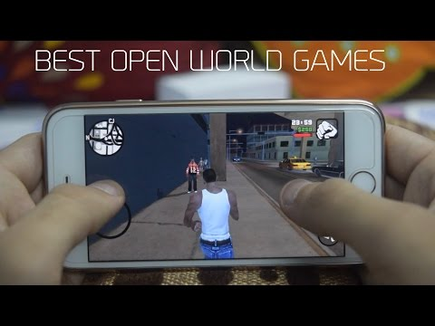 Top 5 Best Open World Games 2017 - Android & iOS (iPhone iPad & iPod) | 5 Games You Can't Miss!