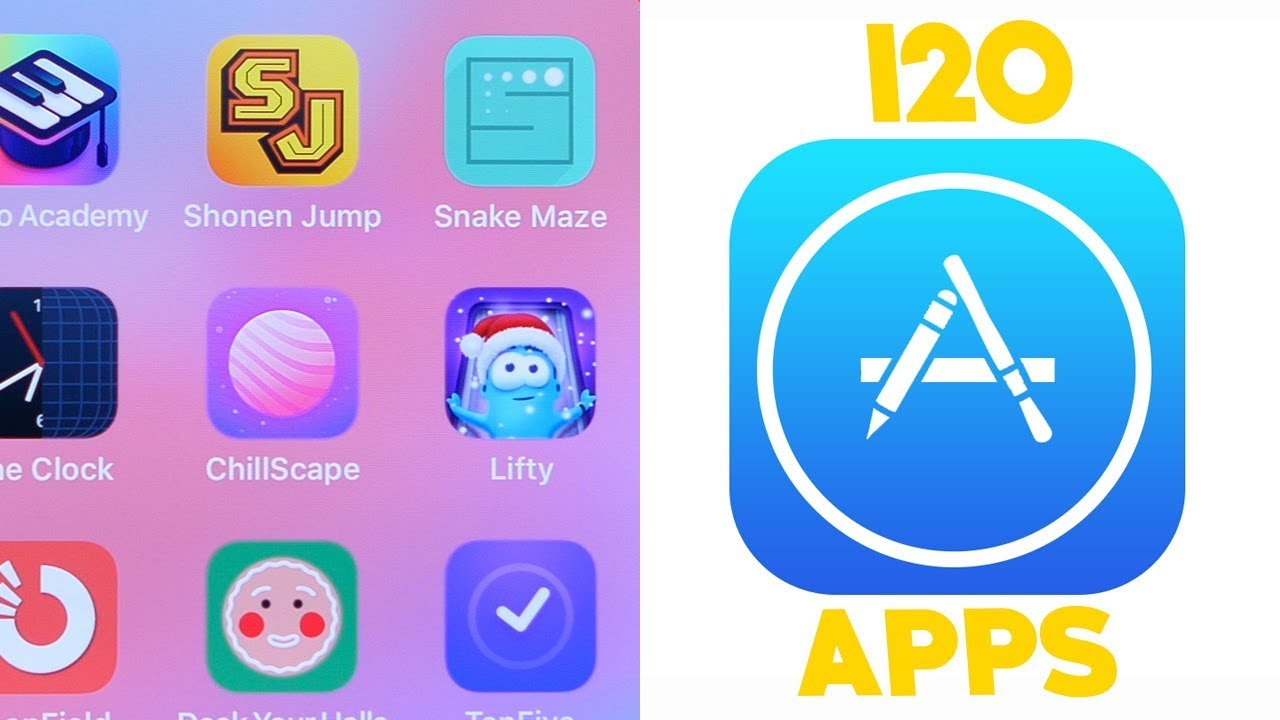 Top 120 iOS Apps of 2018!