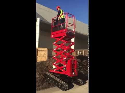Athena Bi levelling Scissor Lift- getting up and at it!