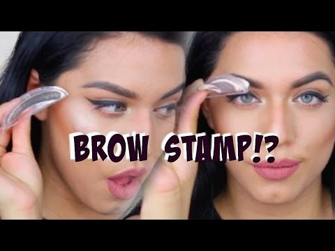 STAMP ON EYEBROWS 1 SECOND BROWS