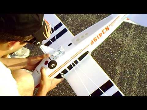 Hobbyzone Super cub first flight