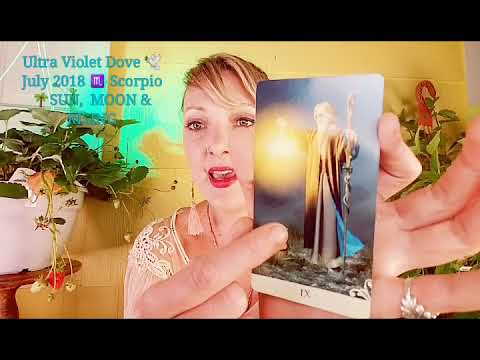 Scorpio ♏ July 2018 🍓 NEW VISION OF LOVE ACROSS THE POND 🍓 INTUITIVE MYSTIC TAROT ANGEL ORACLE