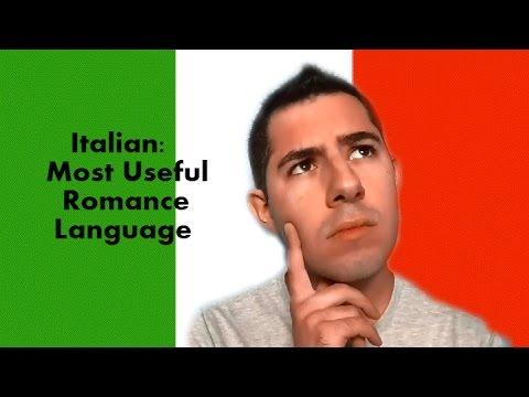 Italian: The Most Useful Romance Language?