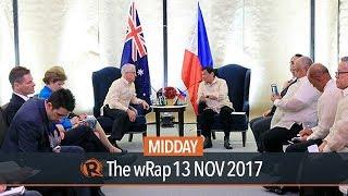 Duterte holds meetings with Australia