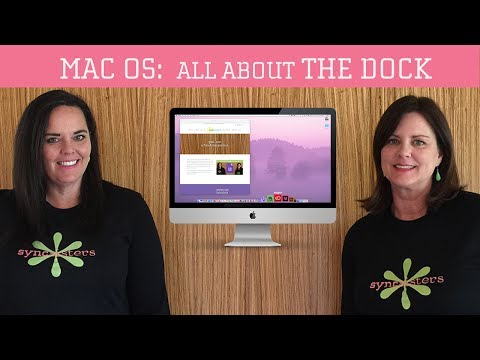 All About the Dock - Mac OS