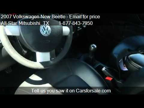 2007 Volkswagen New Beetle Sport for sale in Corpus Christi,
