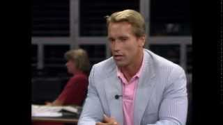 Arnold Schwarzenegger im ORF ZIB 2 Interview