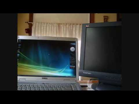 How to setup dual monitors in Vista