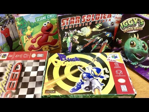 COMPLETE N64 COLLECTION! BEST N64 THEME SONG & RARE SCHMUP! #18