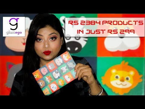 Unboxing Glamego May Subscription Box | India No.1 Subscription Box In RS 299 | Indian Makeup