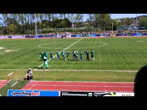 Guernsey FC's Roary - Gangnam again 6th May 2013