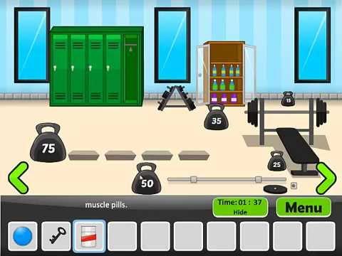 Find My Keys Gym Walkthrough