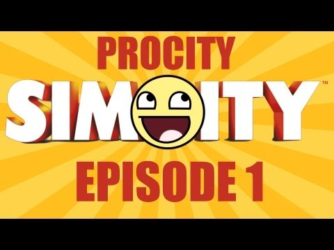 Simcity 5 - Procity #1 - Industrial Startup Tips (Oil, Ore, Coal, Freight)