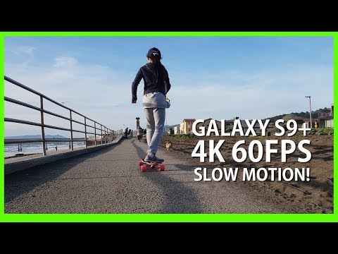 Galaxy S9+ 4K 60fps Slow Motion Test! [Slowed down to 24fps]