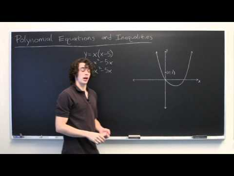 Polynomial Functions, Equations, & Inequalities