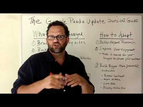 Google Panda Survival Guide-The X's And O's Of SEO-Episode 10