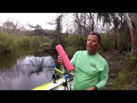 How can a pool noodle make you a better kayak angler II