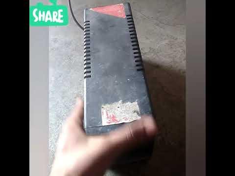How to repair damage computer ups of Intex company part 1