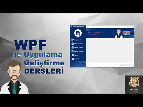 DERS 24 WPF - tool tip, popup, effect - Kitap Ekleme Penceremizi Tasarlayalım