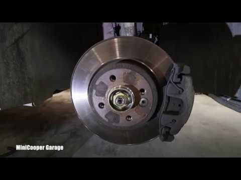 How To Inspect Front Brakes on Mini Cooper