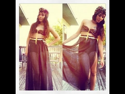 DIY Sheer Maxi Skirt #DIYGawd