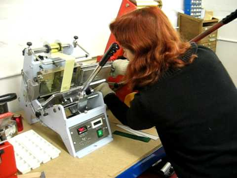 At our business, making rosettes