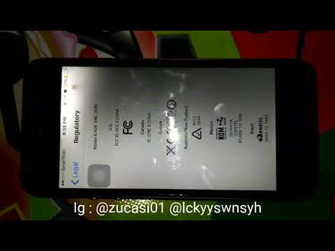 Toturial  Aktifkan 4G LTE Smartfren di Iphone 5 A1428