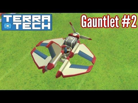 TerraTech | Part 2 | Tiny Venture Plane! | Gauntlet Mode Gameplay