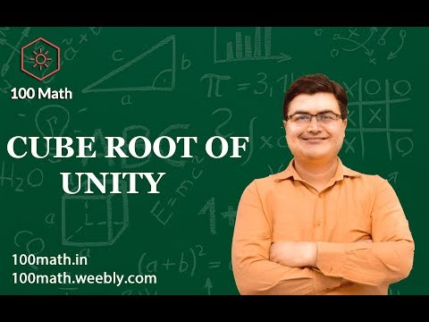 Cube Roots Of Unity By - Sumit Luthra