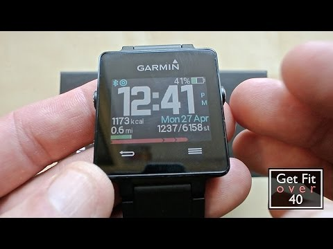 Garmin VivoActive Activity Tracker and Smart Watch Preview