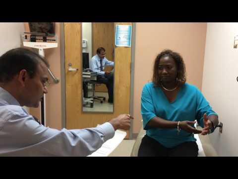 McKenzie Method in Internal Medicine; Twitching of thumb