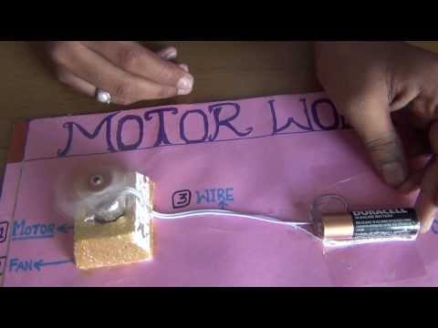 SCIENCE PROJECTS BY CLASS 8 STUDENTS 07 HOW MOTOR WORKS