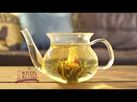 blooming tea balls by Napa Kettle