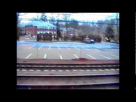 Train Ride to Greenwich, CT 2-2-13