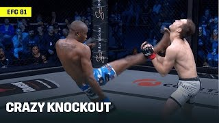 Asiashu Tshitamba Wins Via A CRAZY KO Kick