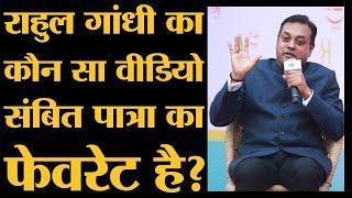 Sambit Patra latest Interview with Saurabh Dwivedi at Lallantop Adda during Sahitya Aaj Tak। BJP