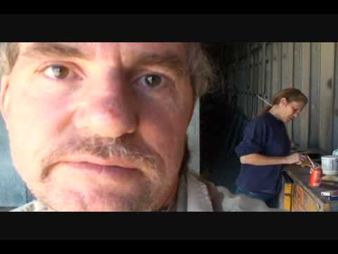 Automobile Collision Repairs-How To Use Evercoat Polyester Glazing Putty.
