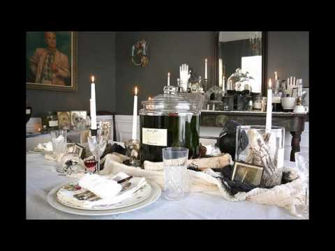 Dinner party themed decorating ideas
