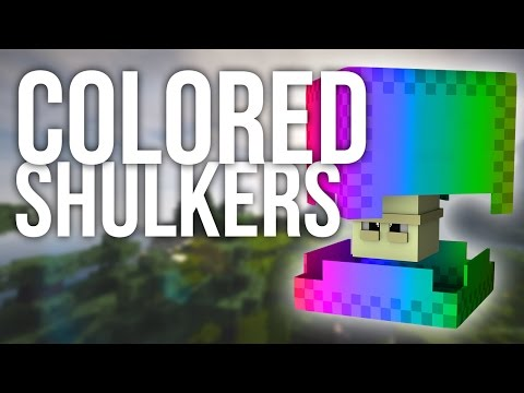 How to Get Colored Shulkers in Minecraft