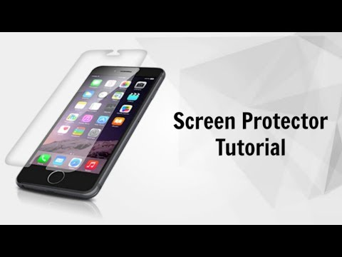 How to put on a Screen Protector Without Bubbles (Perfectly Apply a Screen Protector)